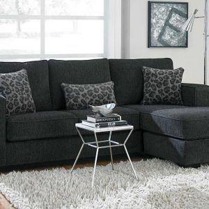 Charcoal Wyatt Sectional Sofa