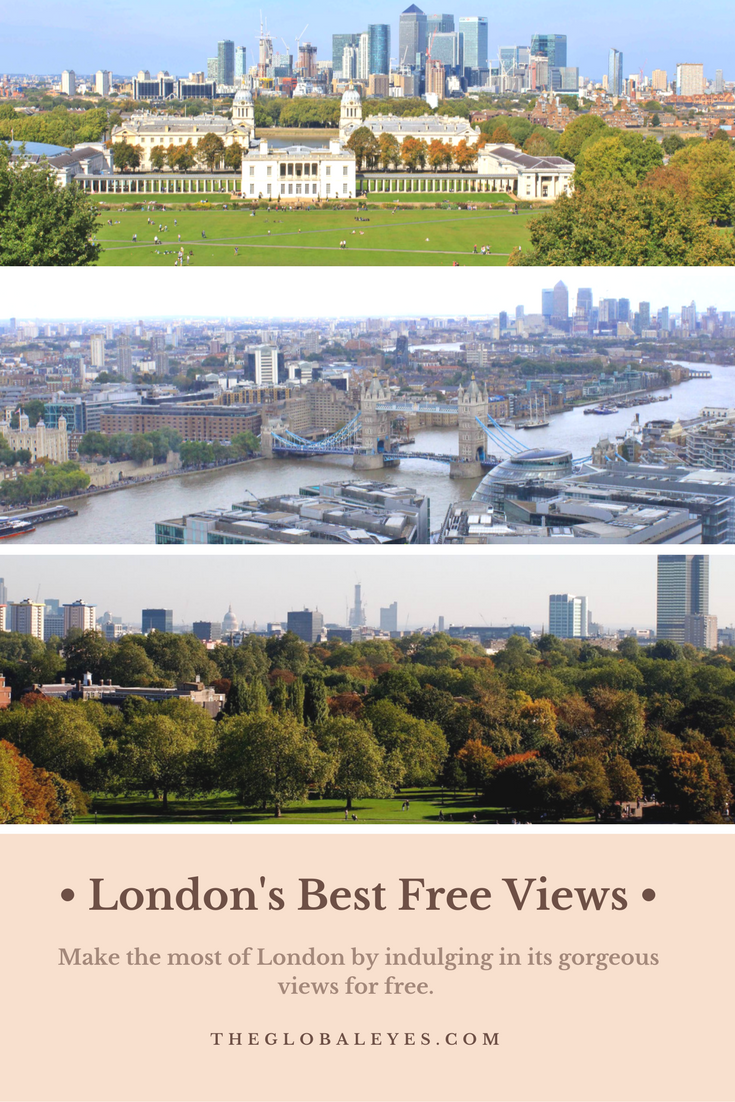 Indulge In The Best London Views For Free See Where Spots Are By Checking Out This Quick Guide