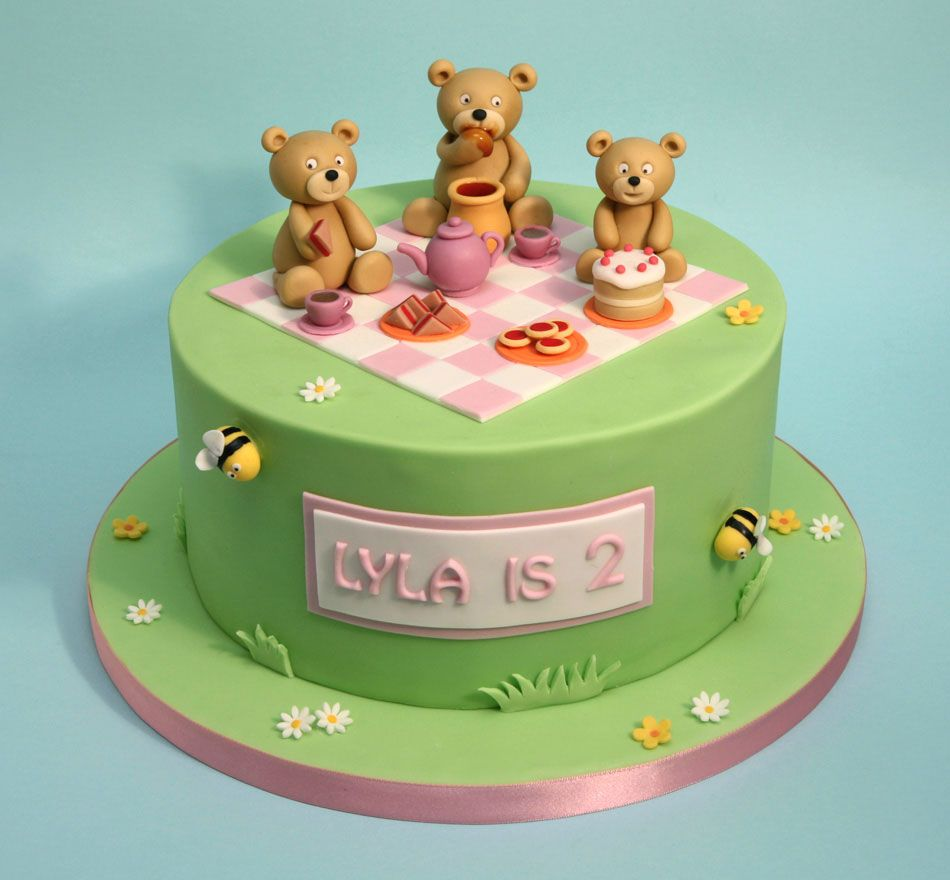 Teddy Bear Picnic Cake Google Search Teddy Bear Cakes