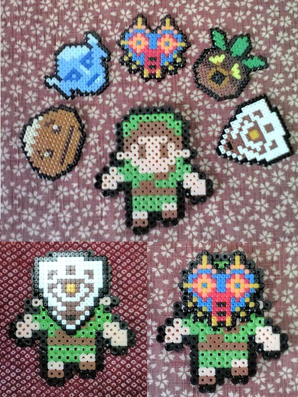 Link Zelda Remember These Melty Bead Things Good Times