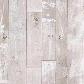 Cream Peelable Vinyl Prepasted Classic Wallpaper Wood Plank Wallpaper Wood Wallpaper Distressed Wood Wallpaper