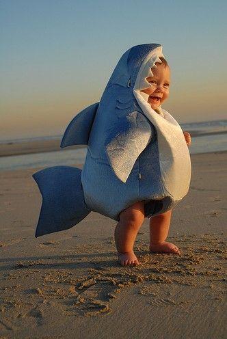 Children's shark fancy dress