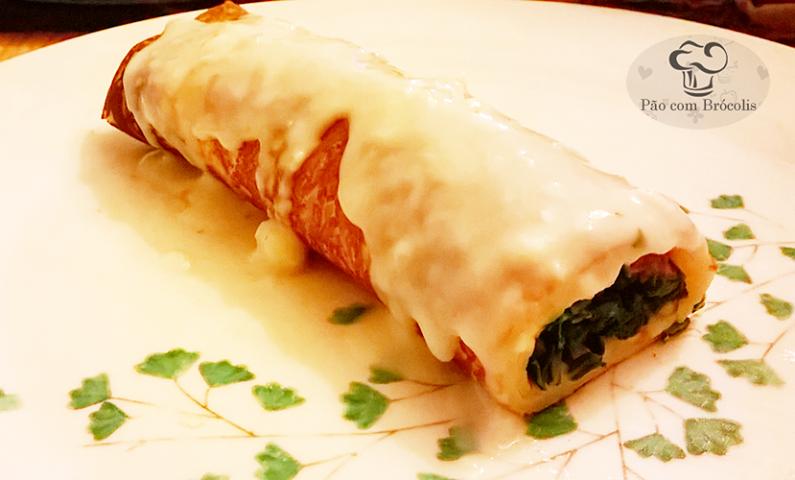 Que tal preparar uma PANQUECA para o almoço? Essa massa é super simples e fácil de fazer!