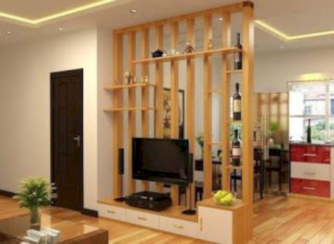 52 Astonishing Partition Design Ideas For Living Room Living
