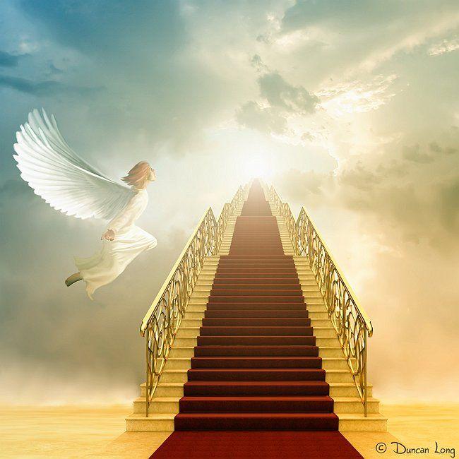 Résultats de recherche d'images pour «HEAVEN GOLDEN STAIR ANGELS»