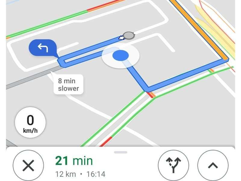 How To Turn On Speedometer In Google Maps On Android Smartphones