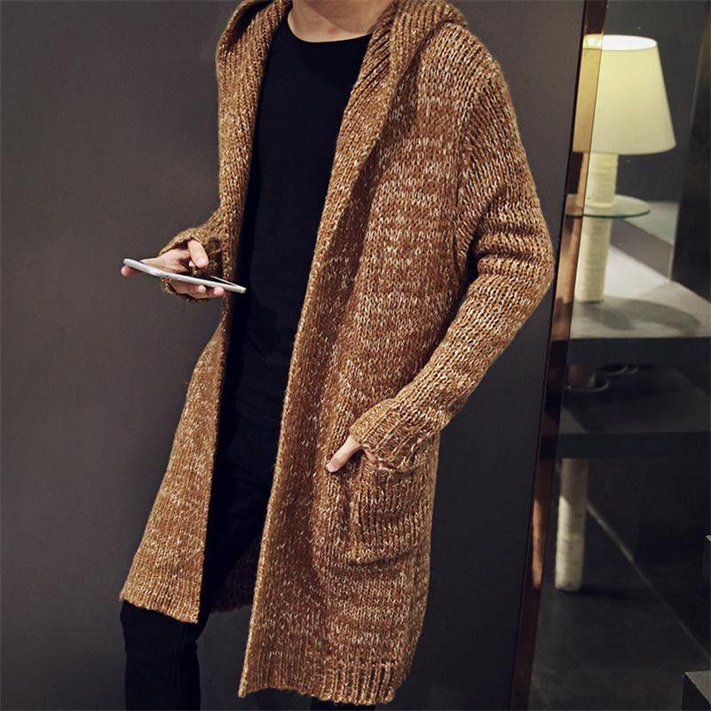Men's Long Cardigan Sweater TrendSettingFashions 1