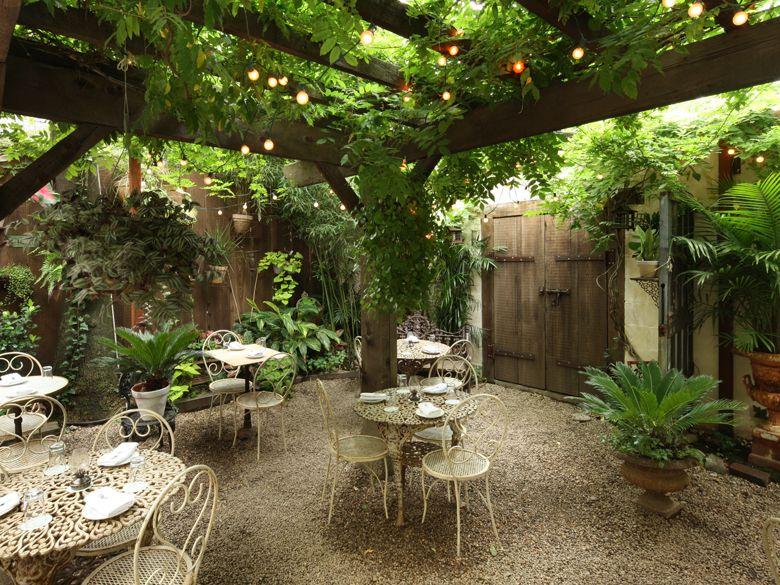 Pretty Sweet Patio Arsitek Restoran Desain