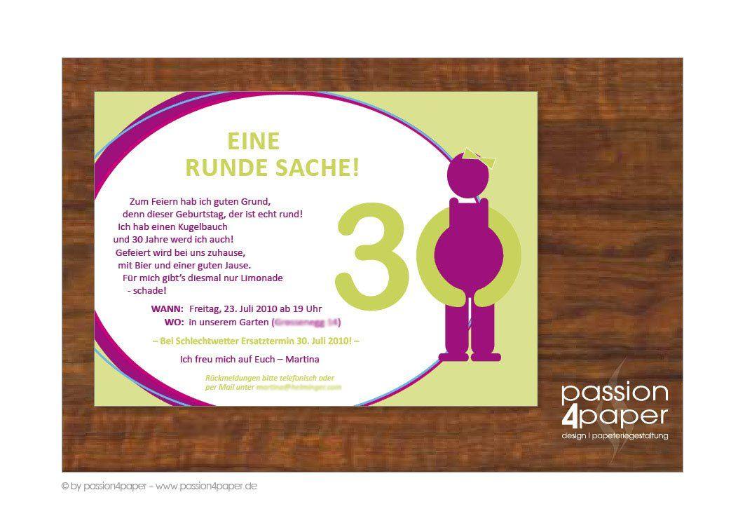 Schön Einladung Geburtstag : Einladung Zum 30 Geburtstag   Geburstag  Einladungskarten   Geburstag Einladungskarten