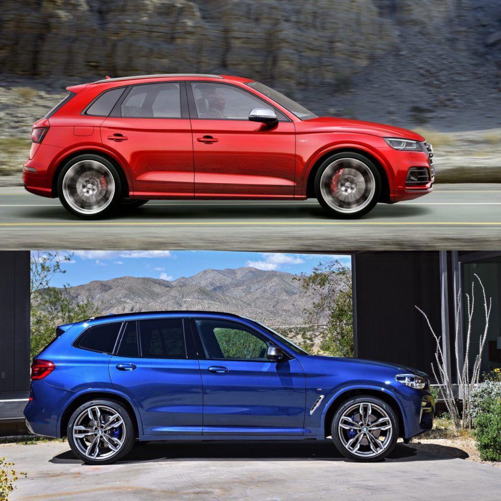 Photo Comparison Audi Sq5 Vs Bmw X3 M40i Bmw Bmw X3 Audi