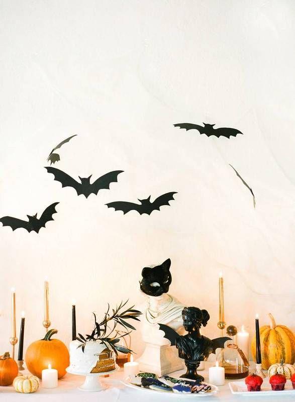halloween party decor halloween bat tablescape