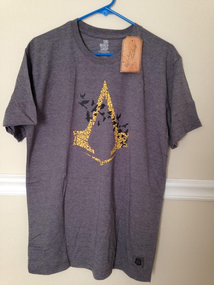 Assasins Creed Short Sleeve Shirt M   eBay