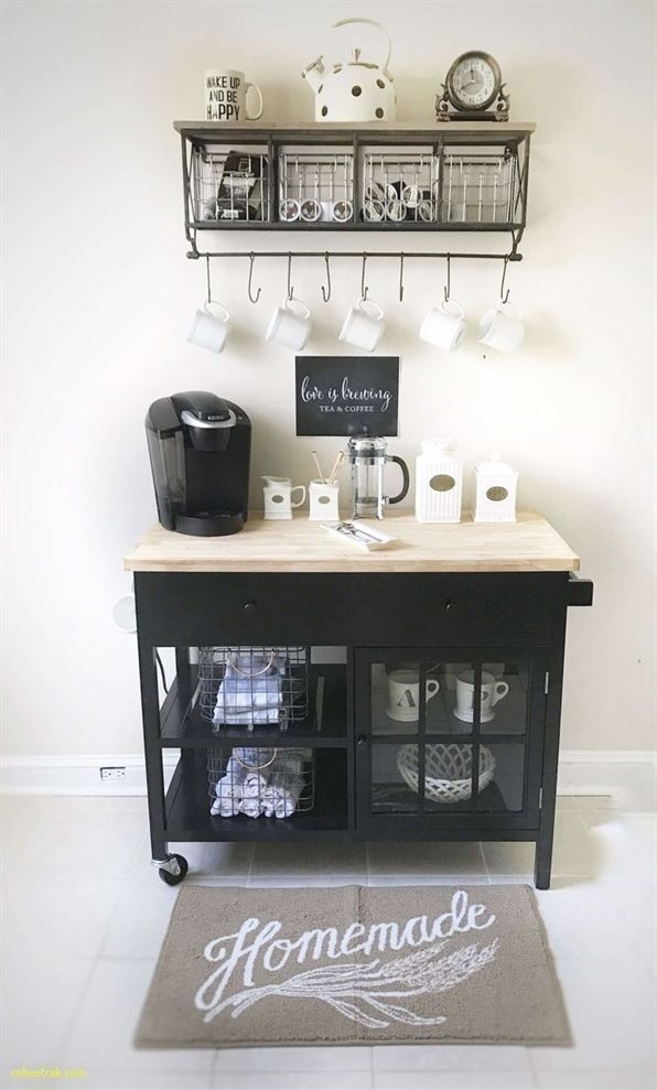 13+ Adorable DIY Coffee Bar Ideas For Your Cozy Home #coffeebarideas