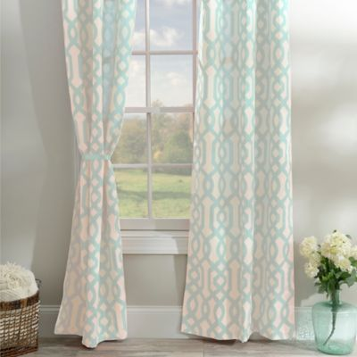 Room · Aqua Gatehill Curtain ...