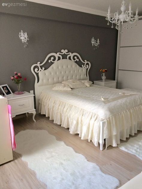Grau, Schlafzimmer Shabby Chic For Home Decor