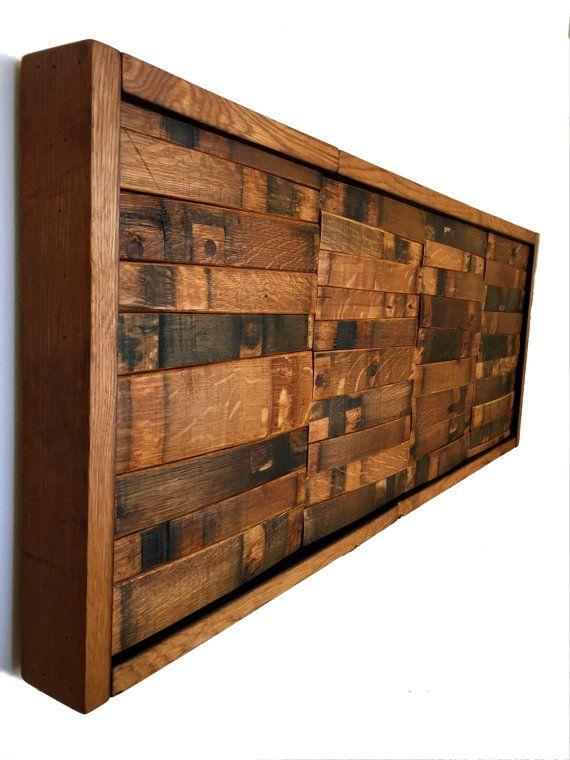 Wine & Bourbon Barrel Wall Art ( Home Decor, Whiskey, Mosaic ...