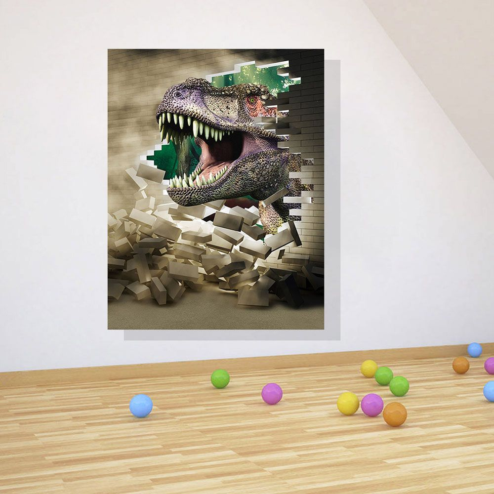 dinosaur wall stickers children bedroom removable diy pvc amazing decals home decor pictures also decal rh pinterest