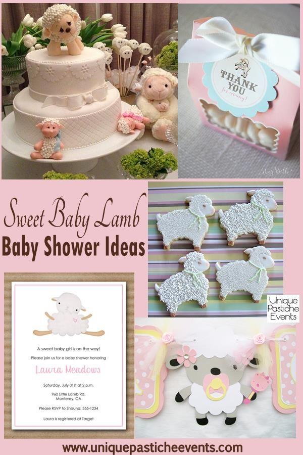 Sweet Lamb Baby Shower {Ideas} | Festa | Pinterest | Lamb baby ...