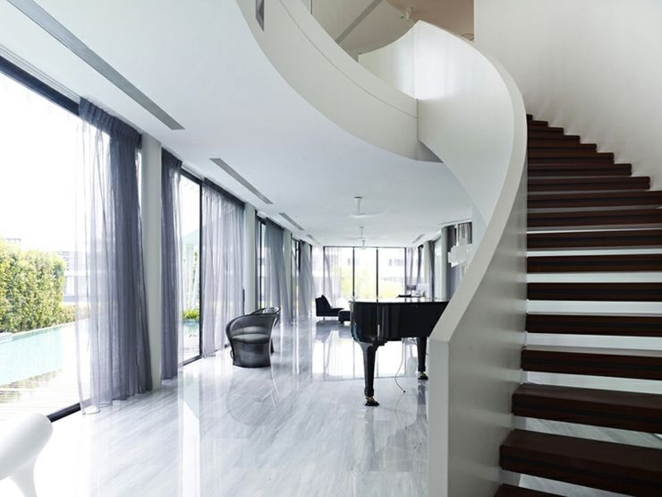 maison-contemporaine-architecte.jpg (740×555) | ESCALIER | Pinterest ...