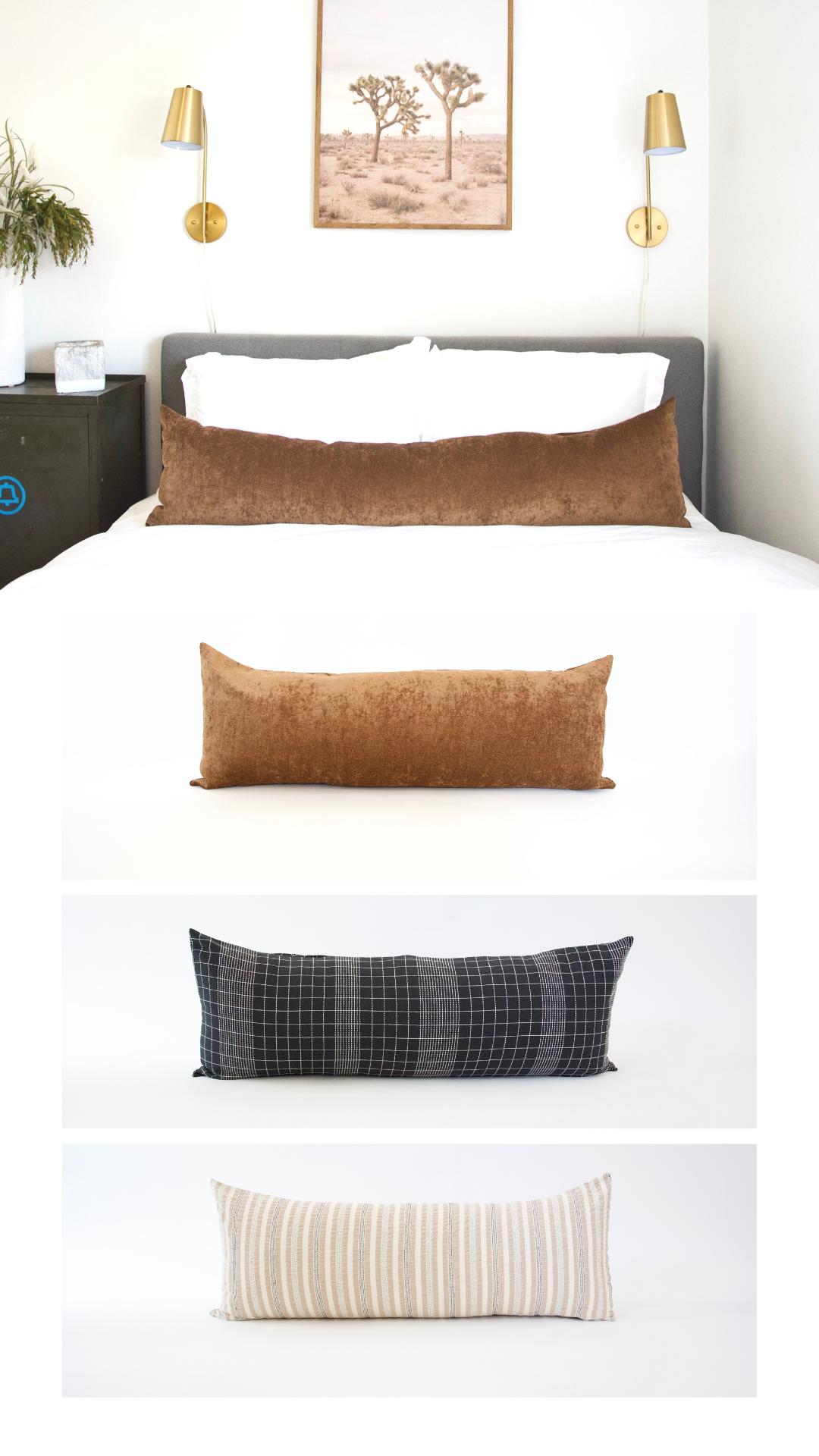 bed pillow arrangement throw pillows bed