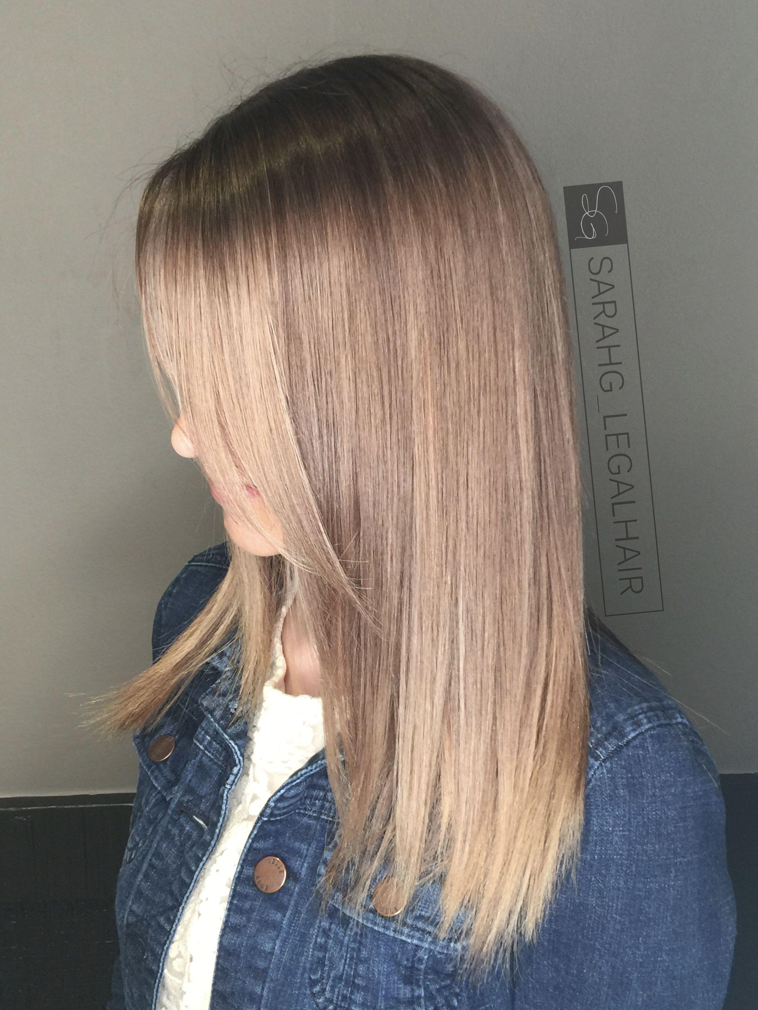 Babylights And Balayage Bronze Hair Natural Light Brown Dark