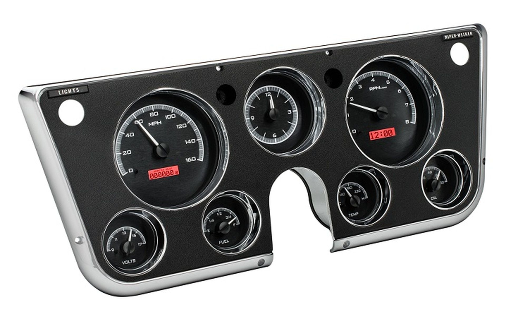 Dakota digital 196772 chevy pickup truck analog gauge