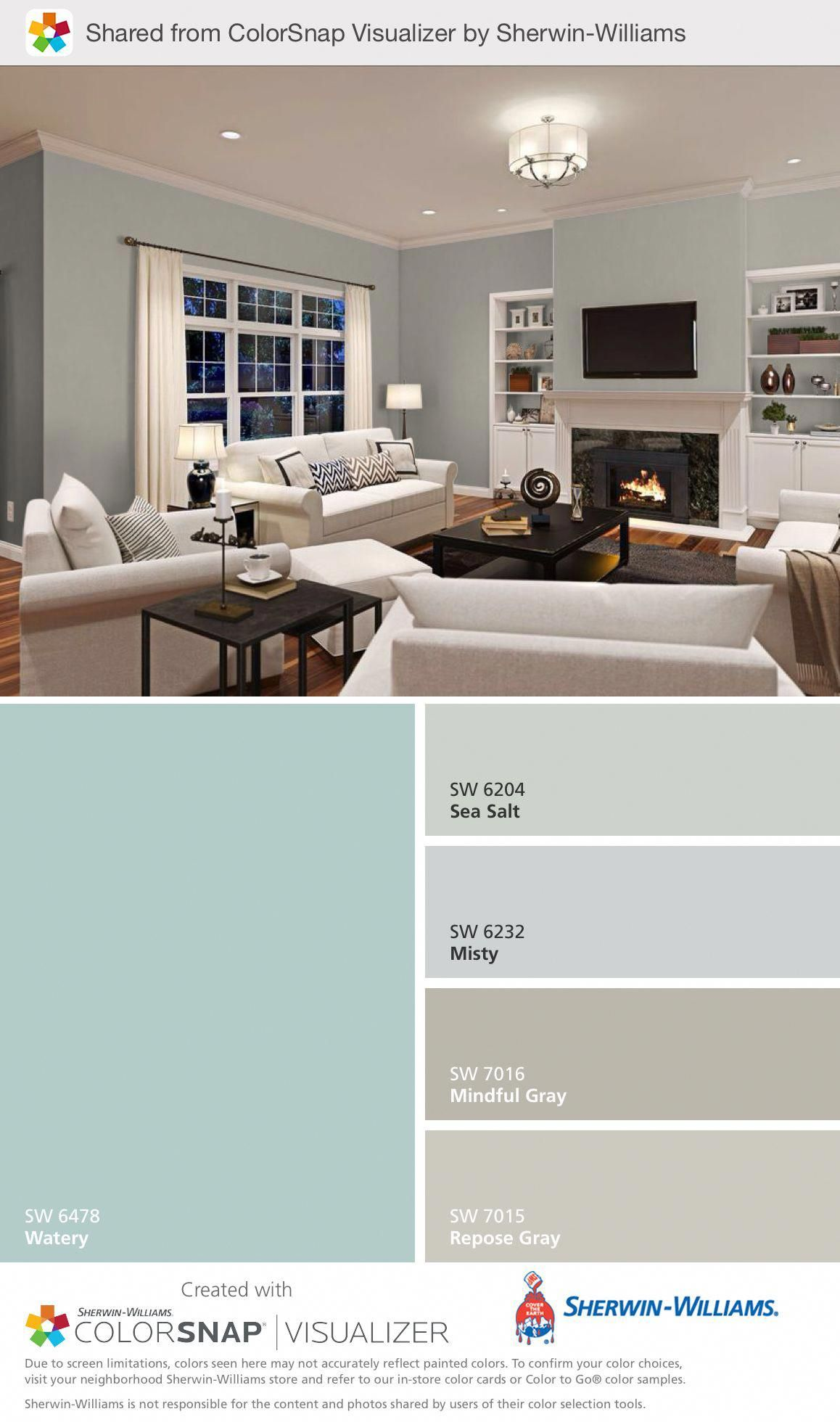 Coastal Living Rooms Puctures Coastallivingrooms Paint Colors For Home Home New Homes Beach paint colors for living room