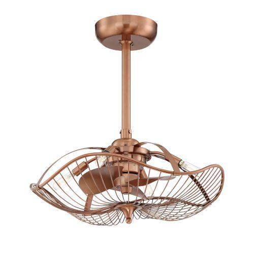 Fifth And Main Wl 2338 Gold Ceiling Fan Ceiling Fan