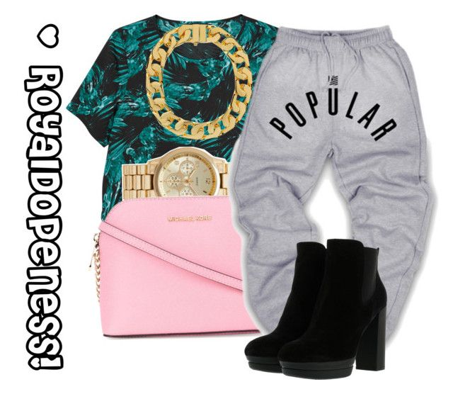 """""""Live. Love. Style!"""" by royaldopeness ❤ liked on Polyvore featuring Monki, Forever New, MICHAEL Michael Kors, AMBUSH, Hogan, GetTheLook, MyStyle, verycute and royal_dopeness"""