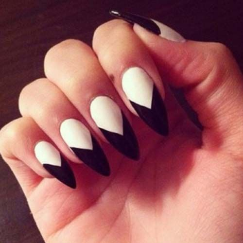 Fantabulous Pointed Nail Art Trends for Spring | nails | Pinterest ...