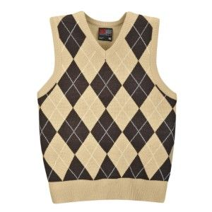 Someday I will knit the perfect argyle sweater vest. Grey, medium ...