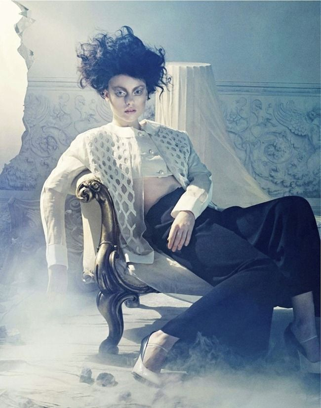 AMICA MAGAZINE- Luize Salmgrieze in Omaggio A Cocteau by Sandrine Dulermo & Michael Labica. Laurent Dombrowicz, March 2013, www.imageamplified.com, Image Amplified (11)