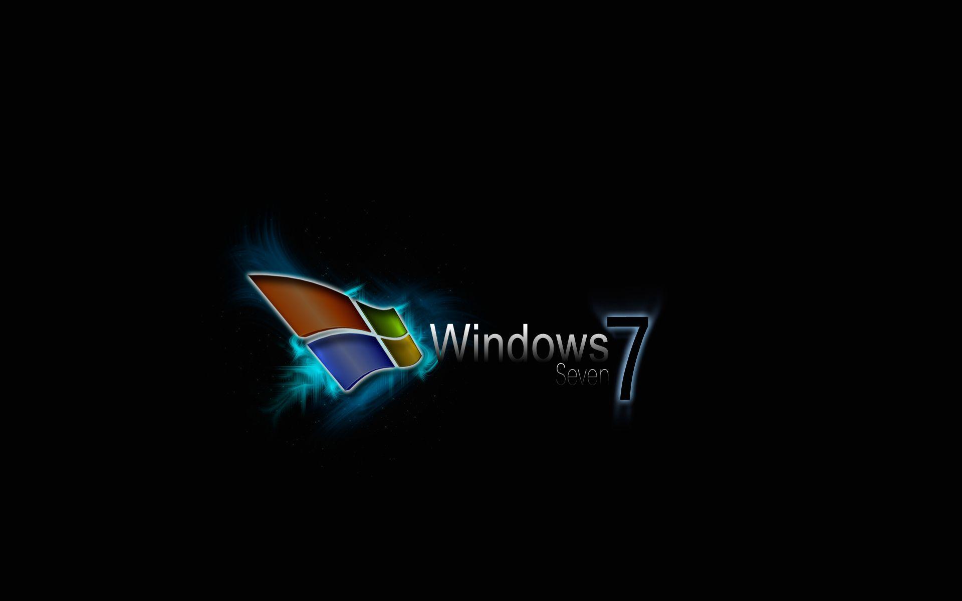 Never Had A Problem With Windows Vista But I M Loving Windows 7 Wallpaper Windows 10 Desktop Wallpaper Black Windows Wallpaper