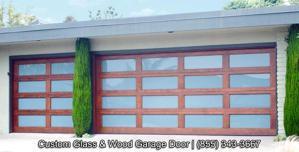 modern wood garage doors - Google Search | home | Pinterest | Wood ...
