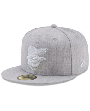 best service 5153a 7a197 New Era Baltimore Orioles Pure Silver 59FIFTY Fitted Cap - Gray 7 1 8