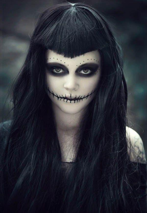 Maquillaje para Halloween novia cadver halloween Pinterest