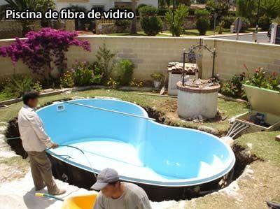 El Blog De Las Piscinas Piscinas Fibra De Vidrio Piscinas