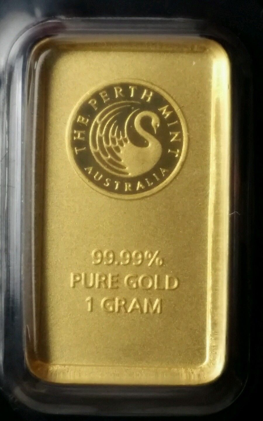 Perth Mint 1 Gram Gold Bar In Assay Card Gold Bar Mint Bar Mint