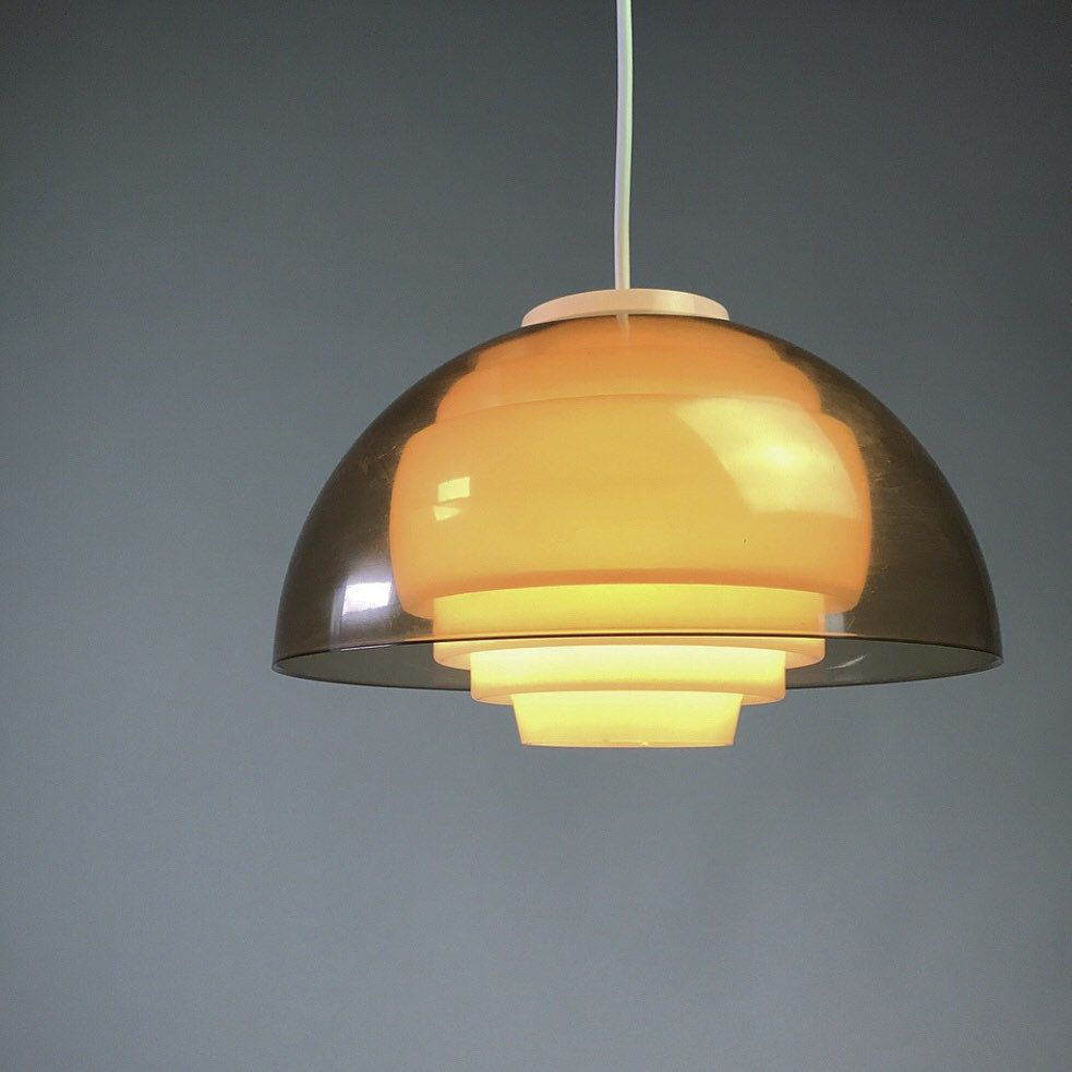 Danish Bent Karlby Ceiling Light By Ask Mid 1970s Transparent Acrylic Ceiling Lamp Space Age Design Made In Denmark In Nord Ceiling Lights Ceiling Lamp Light