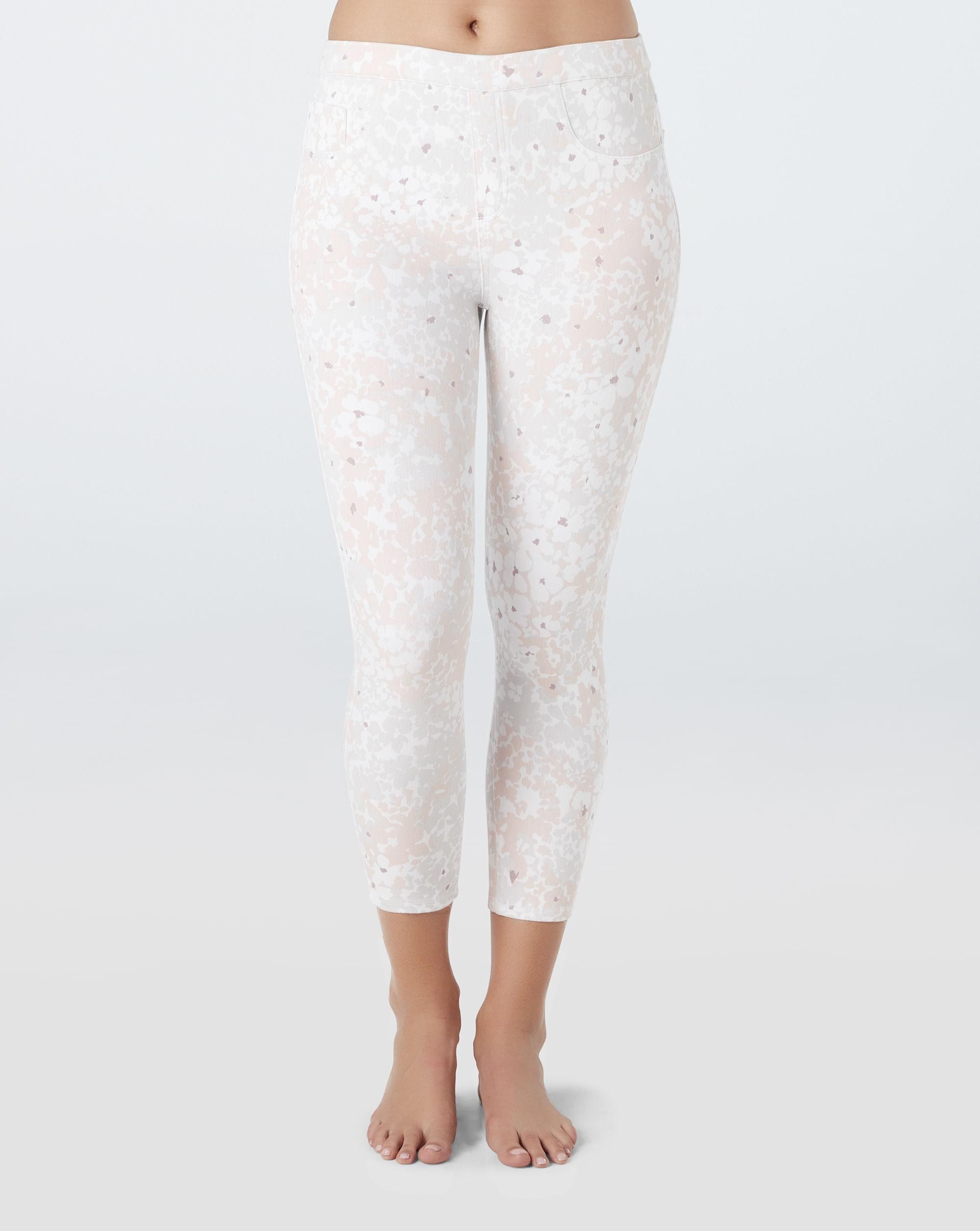 c2db29de27d7b1 #fashion #trends #styles #AdoreWe #Spanx - #SPANX Spanx Jean-Ish Cropped  Leggings Blush Petal - Size XS - AdoreWe.com