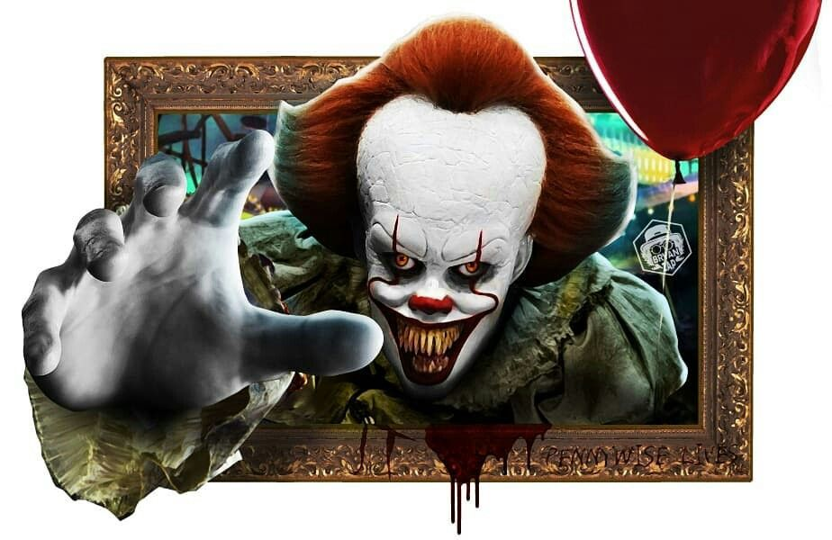 Pin by The Slasher on IT Art, Pennywise, 3d art