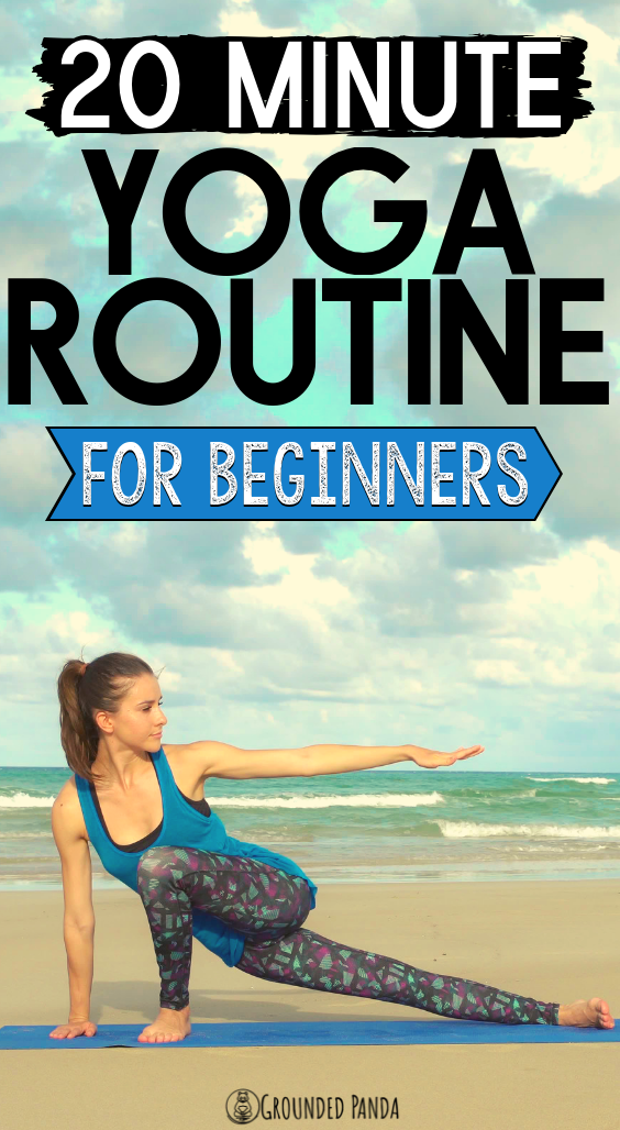 Photo of The 20 Minute Yoga Routine Every Beginner Needs + Free PDF