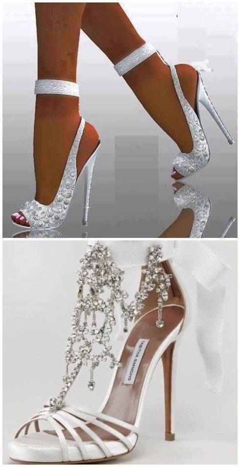Wedding Shoes » 20 White Wedding Shoes Brides Wish They Wore at Their  Wedding » ❤ 5bdb04442f6b