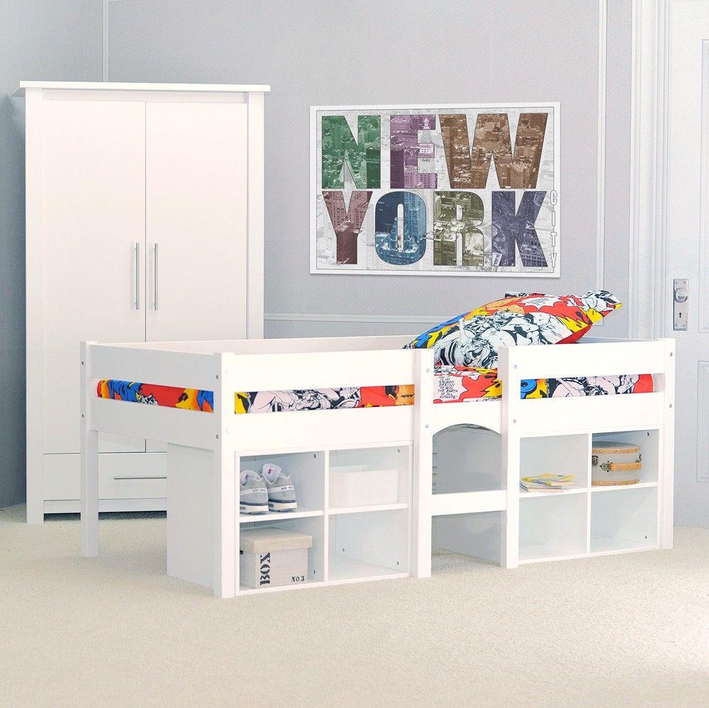 lit sur lev hauteur pour enfant avec caissons de rangement chambre enfant pinterest room. Black Bedroom Furniture Sets. Home Design Ideas