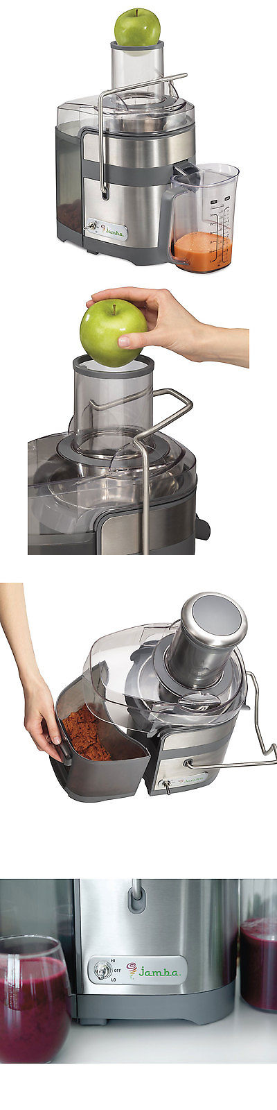 Jamba Appliances 67901 Centrifugal Juice Extractor Gray