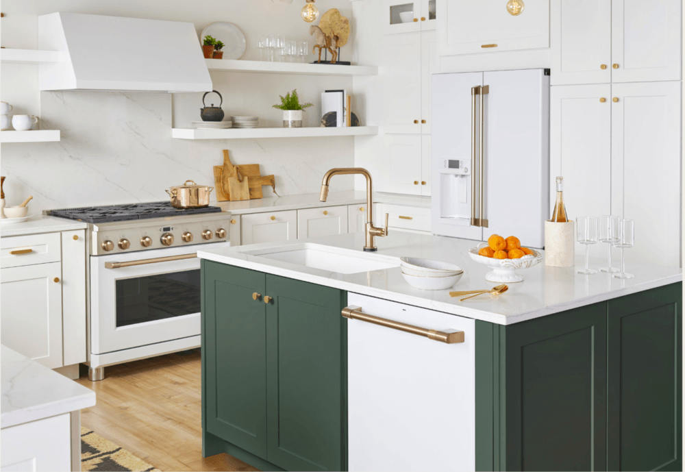surprising yellow kitchen white appliances   Surprising Discoveries At The Kitchen and Bath Show 2019 ...