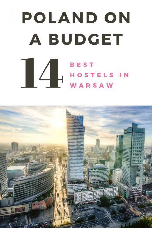 Visiting Poland on a budget? Then staying at one of the best hostels in Warsaw is a great way to save some money! Here are the top 14 hostels the city has to offer! | top europe destinations cities #warsaw #poland #europe #budgettravel #travel #europeantravel #europedestinations #top #europe #destinations
