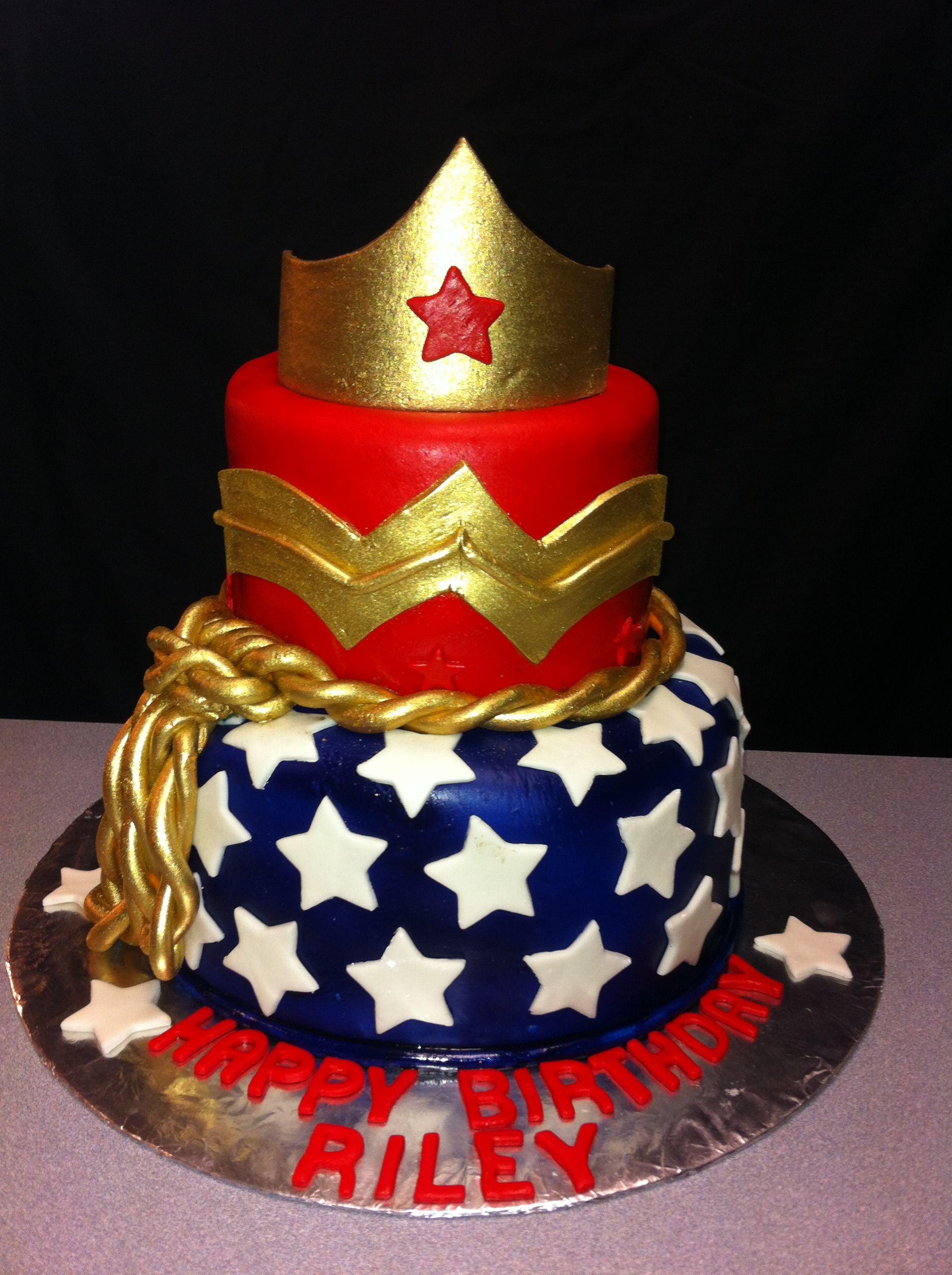 Wonder Woman Birthday Cake Ariel Rodriguez you'll love