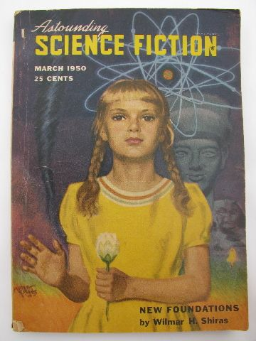 vintage sci-fi magazines | Vintage early 1950s pulp sci-fi ...