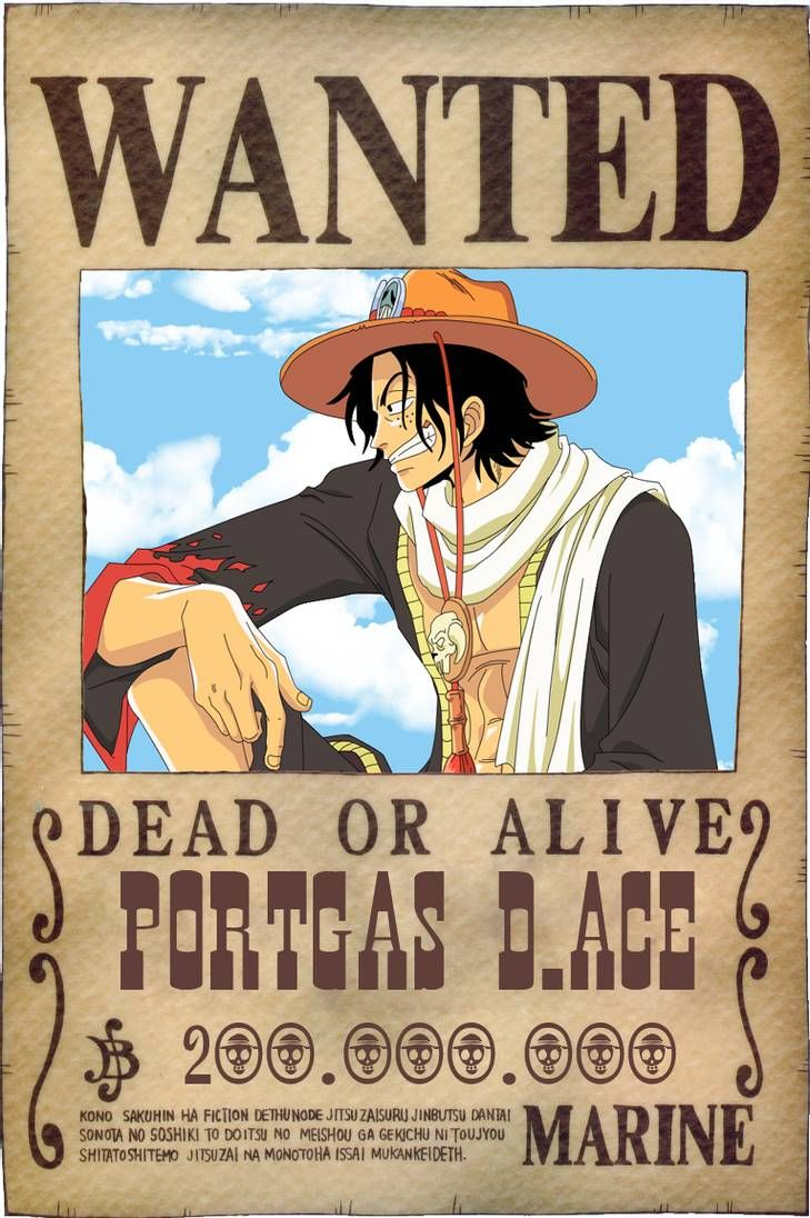 Ace Wanted by Vero-Light on DeviantArt